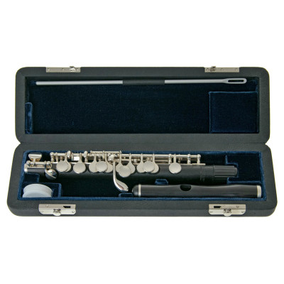 August Richard Hammig Piccolo - 40114/3 Grenadille
