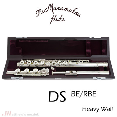 Muramatsu Dwarsfluit - DS BE - Heavy Wall