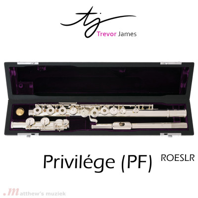 Trevor James Privilége PF Dwarsfluit