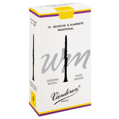 Vandoren Rieten - White Master Traditional