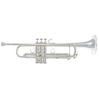 Bach Bb Trumpet - VBS1S - Silver Plated