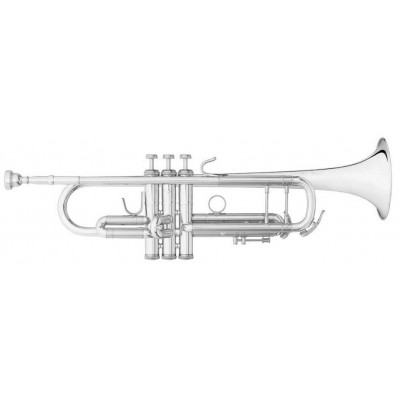 B&S Bb Trumpet - Challenger I - 3137 S - Silver Plated
