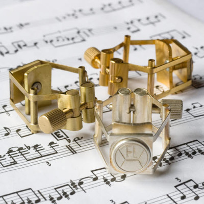 François Louis Ligature - Pure Brass - Bb Clarinet - Gold Plated