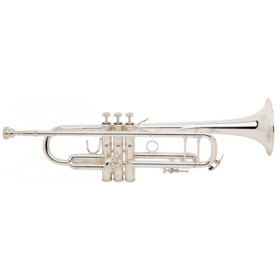 Bach Bb Trumpet - Stradivarius  - 180S-37 - Silver Plated