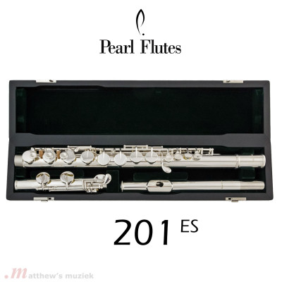 Pearl Alto Flute - 201 ES with Straight Head Joint