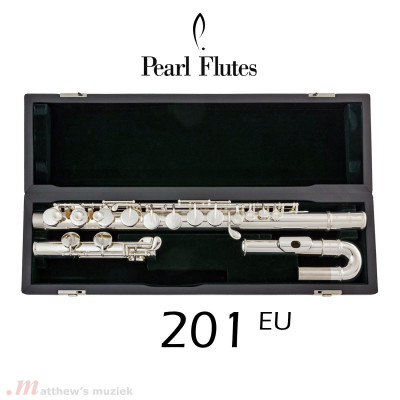 Pearl Alto Flute - 201 EU with Curved Head Joint