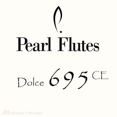 Pearl Flute - Dolce 695 CE