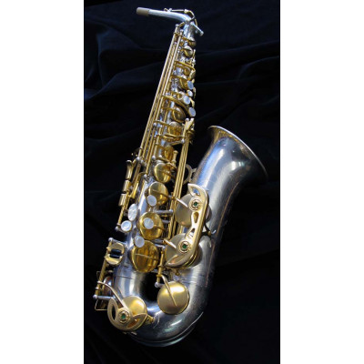 Rampone & Cazzani Alto Sax - R1 Jazz - Silver and Gold