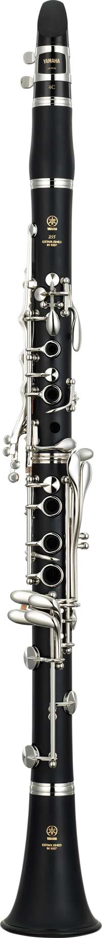 Yamaha clarinet in bb ycl 255 s free shipping worldwide for Yamaha beginner clarinet