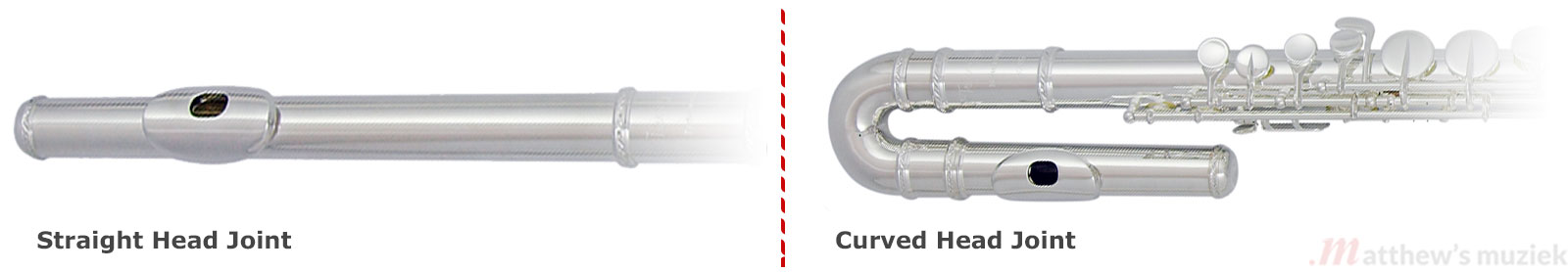 Alto Flute:Curved or Straight Head Joint