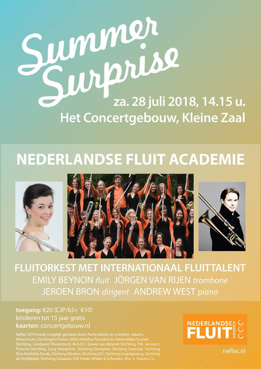 Nederlands Fluit Accademie - Summer Surprise