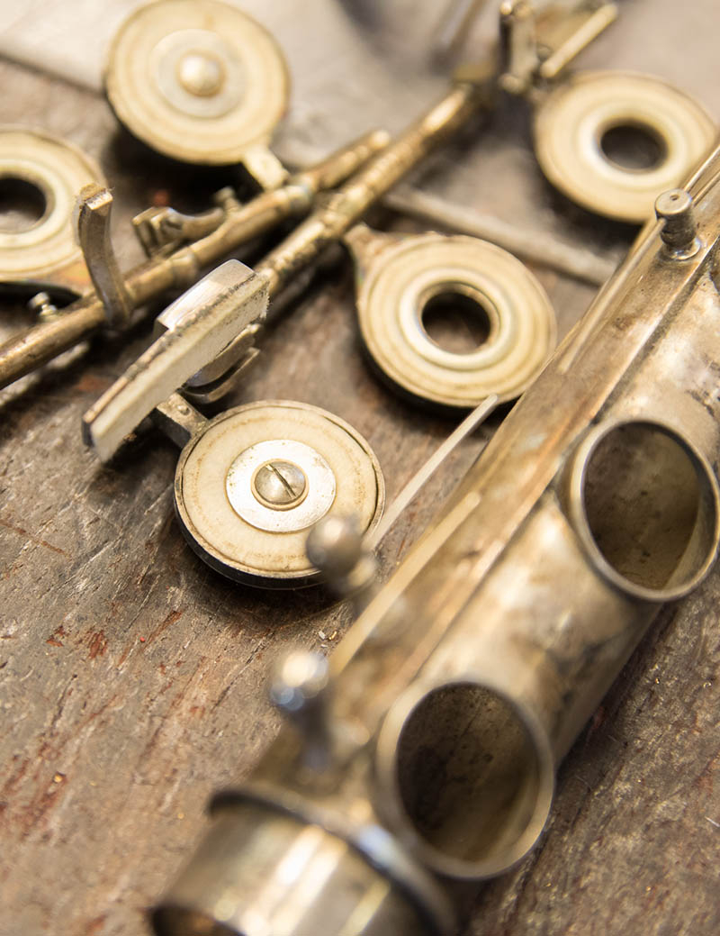 Fluit Demonteren